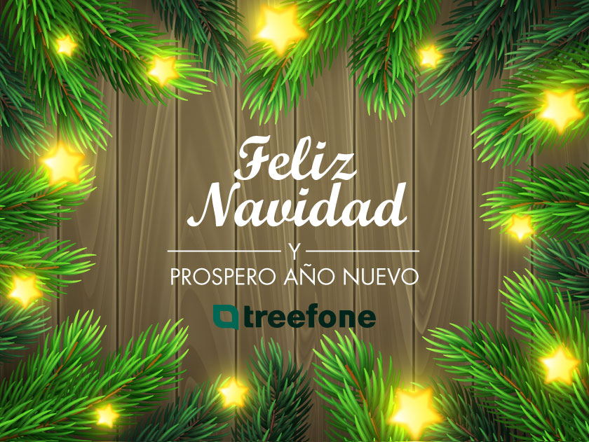 Feliz Navidad Treefone